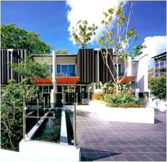 方形花园设计手绘