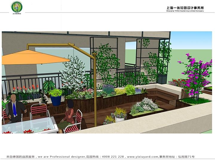 花园设计/庭院建造/别墅花园设计-上海一休园艺有限